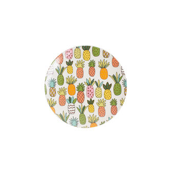 Pineapple ceramic fruit plate