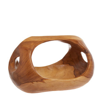 Bowl decorativa in legno di teak