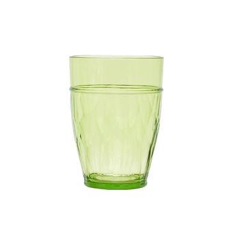 Bicchiere plastica verde
