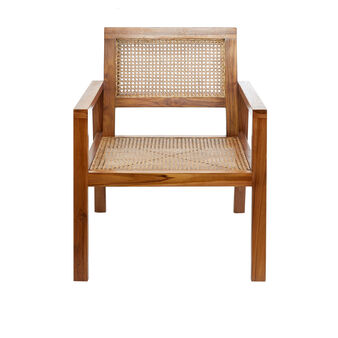 Matis wooden and rattan chair
