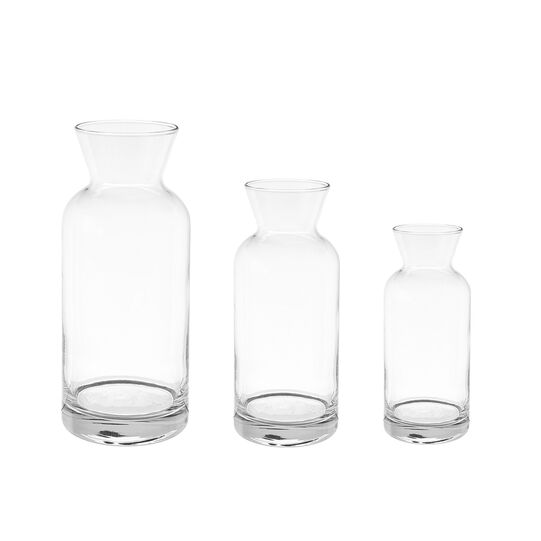 Clear glass jug, 0.25 l