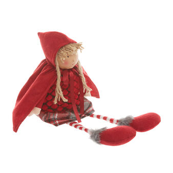 Little Red Riding Hood doll in fabric
