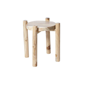 Stool in teak and wood