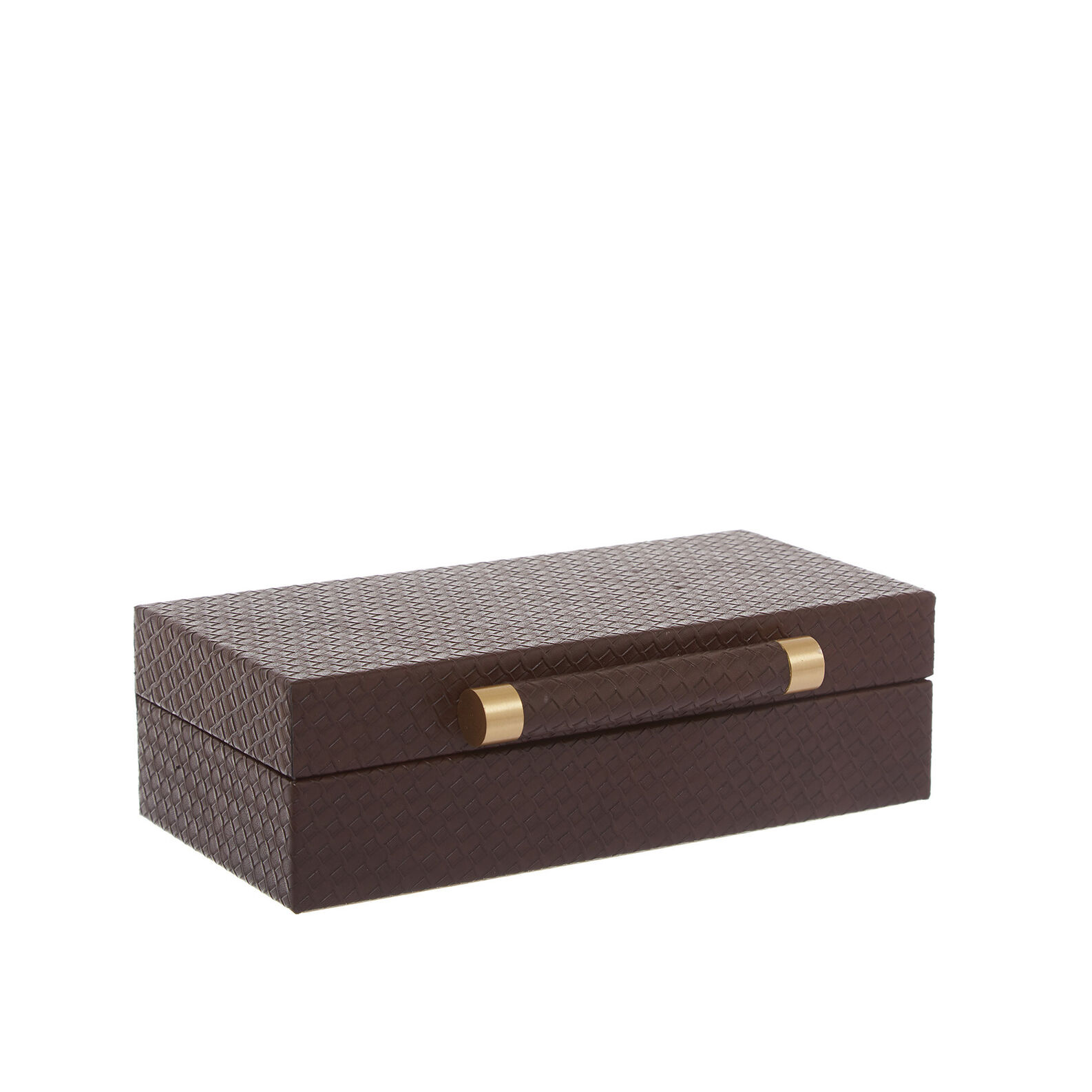 Jewelery box in synthetic material