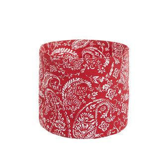 100% cotton basket with paisley print