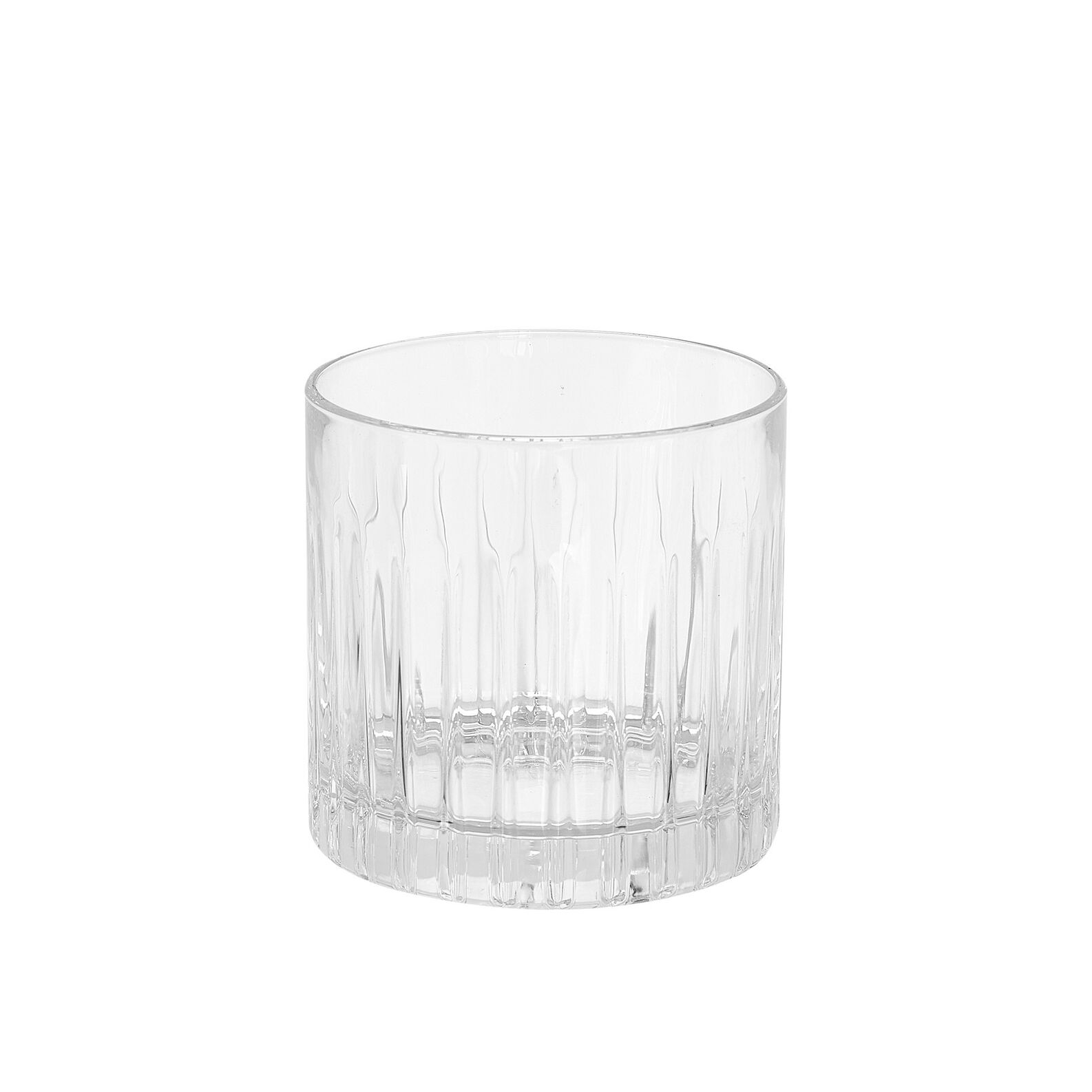 Set of 6 glass Timeless tumblers