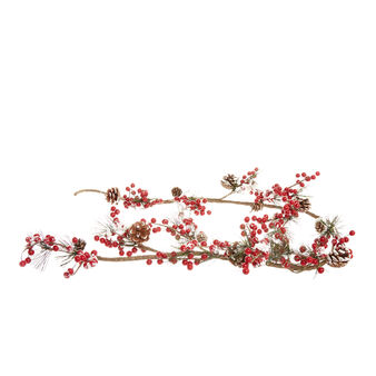 Decorative branch with red berries