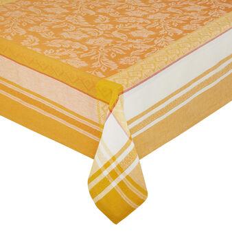 Tovaglia lino e cotone motivo ornamentale