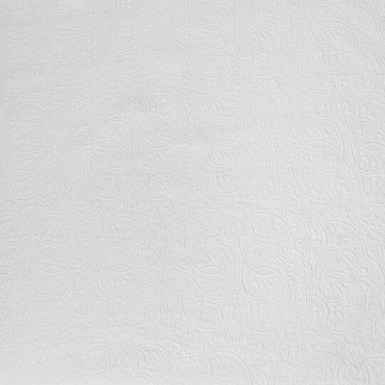 Copriletto cotone motivo fregio
