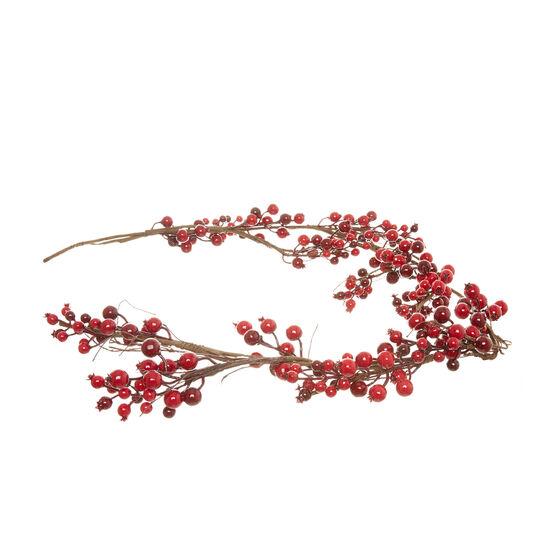 Ramo decorativo bacche rosse