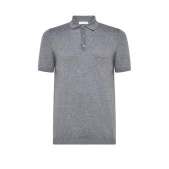 Luca D'Altieri polo shirt in 100% organic cotton