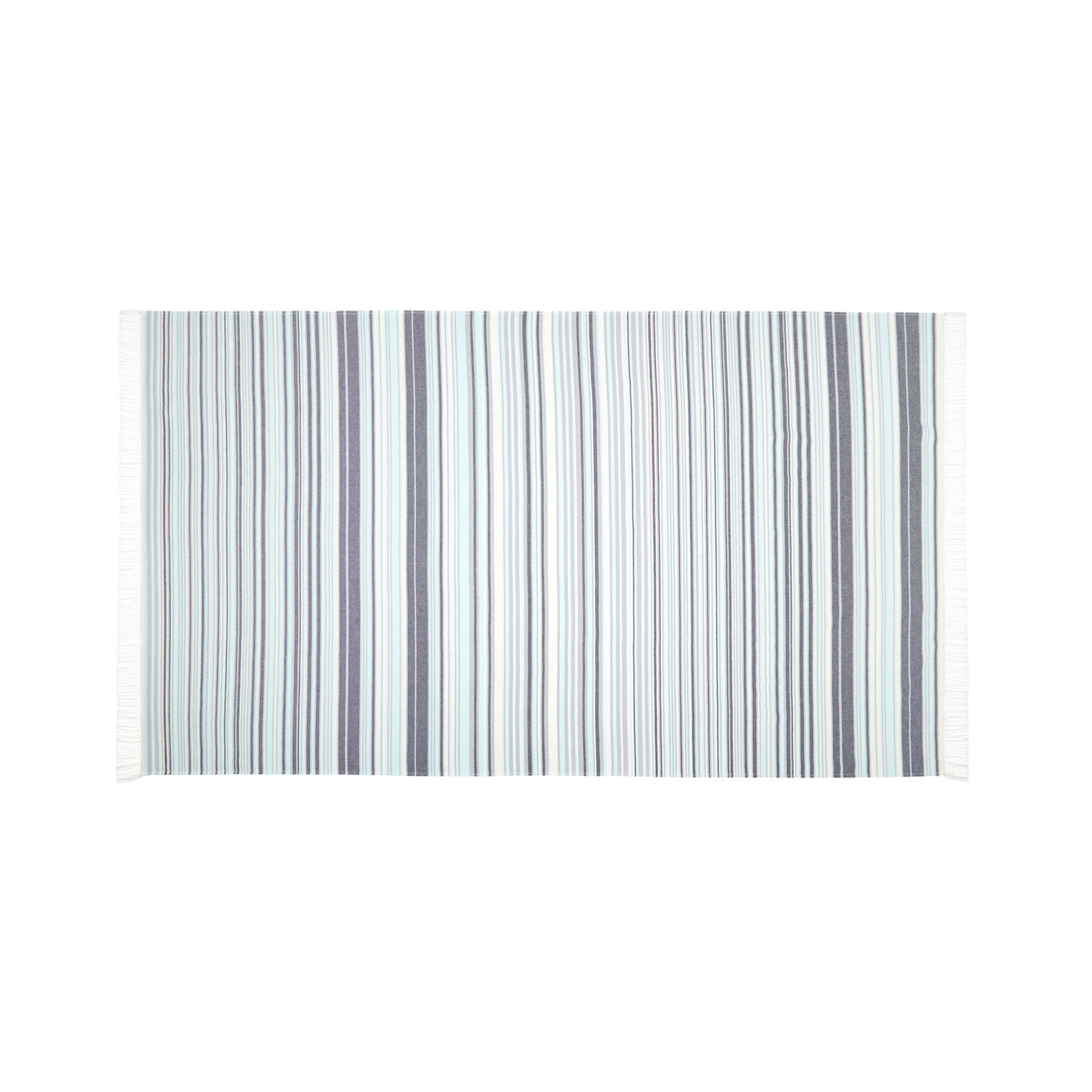 100% cotton striped hammam-style beach towel