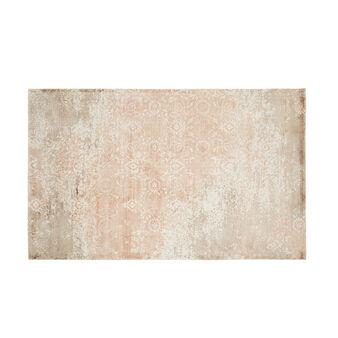 Tappeto viscosa e cotone effetto vintage