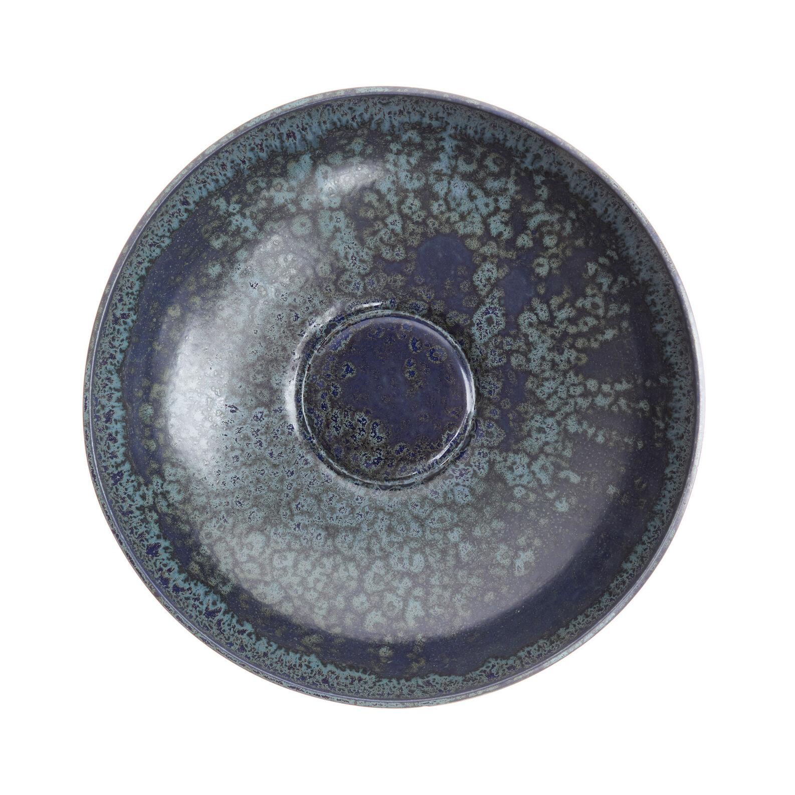 Coppa decorativa ceramica portoghese finitura smalti reattivi