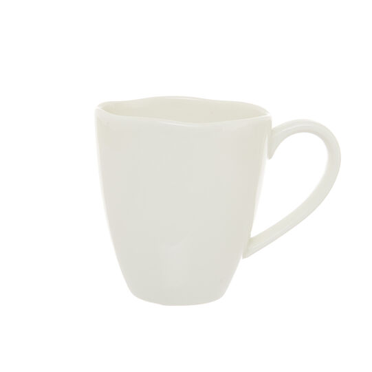 Solid color new bone china mug