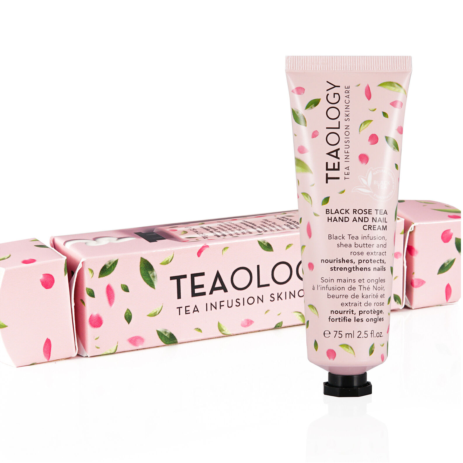 BLACK ROSE TEA HAND AND NAIL CREAM CANDY WRAP