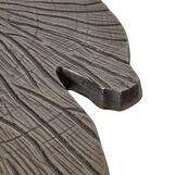 Leaf coffee table in leaf-shaped aluminium