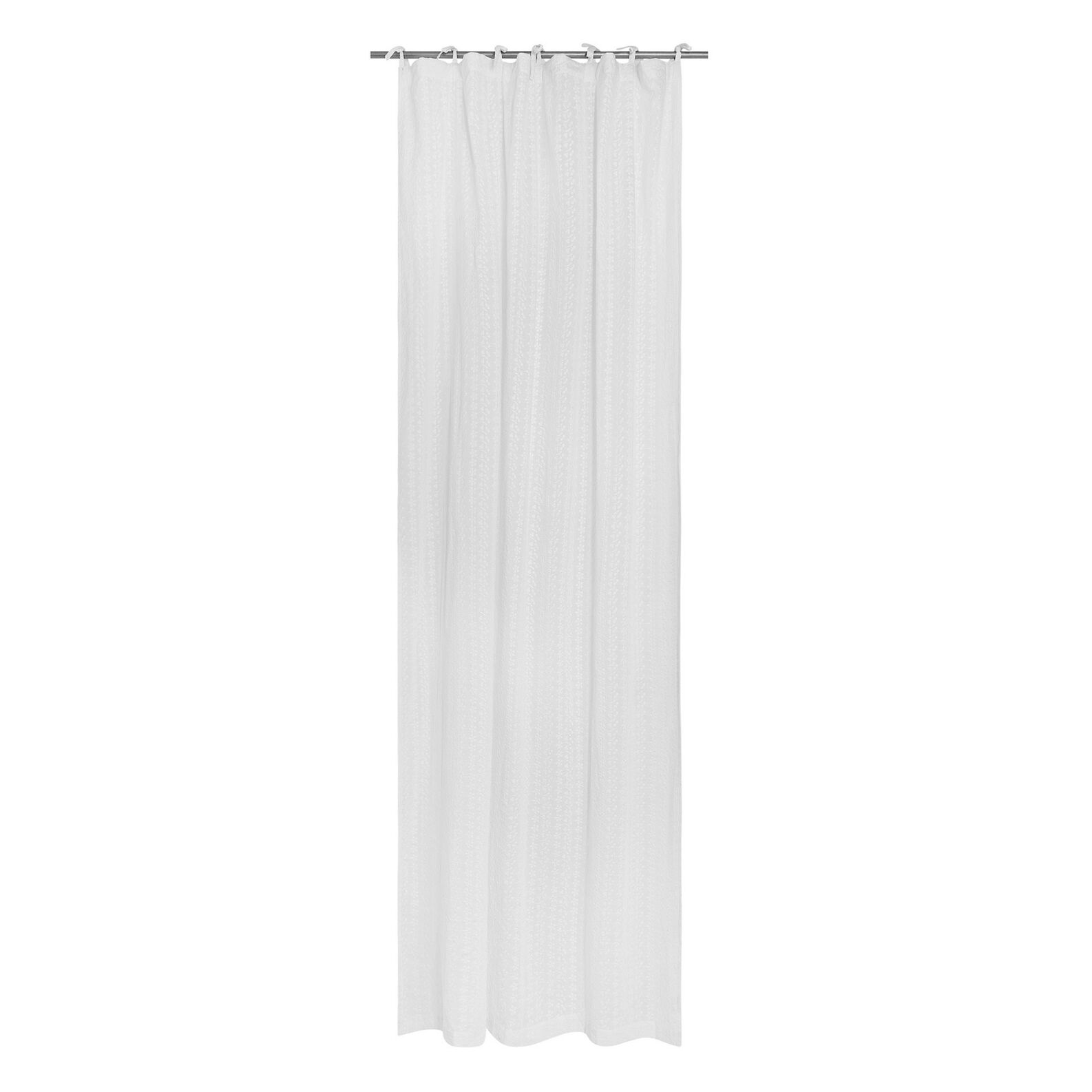 100% cotton broderie anglaise curtain with laces