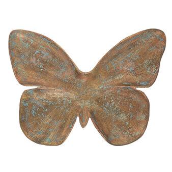 Farfalla decorativa metallo fatta a mano