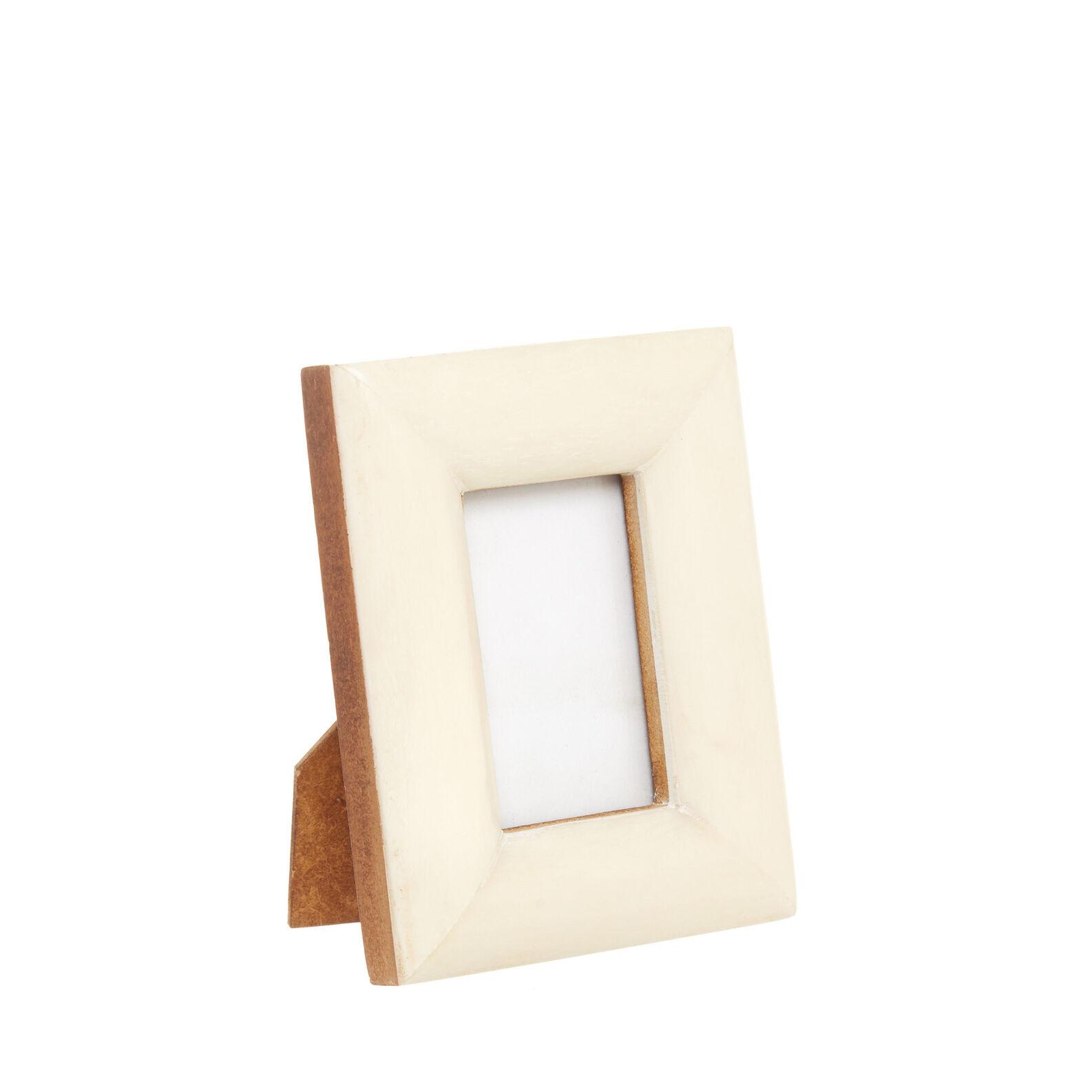 Hand made bone photo frame