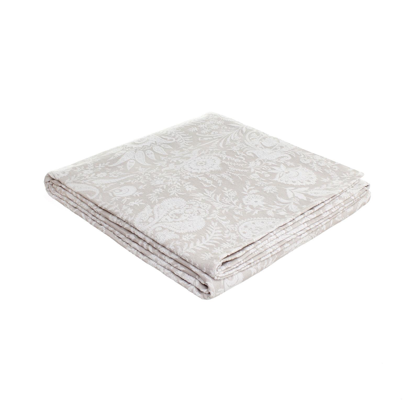 Poryofino bedspread with jacquard processing