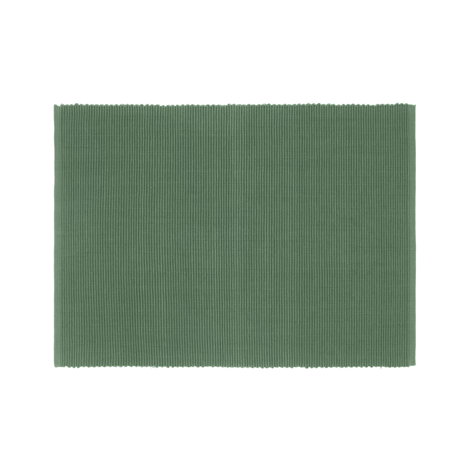Solid colour table mat in 100% cotton
