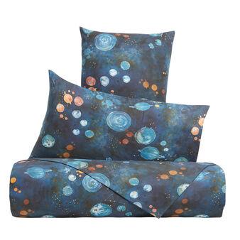 Lenzuolo liscio cotone percalle fantasia universo