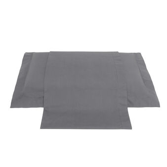 Zefiro solid colour flat sheet in percale.