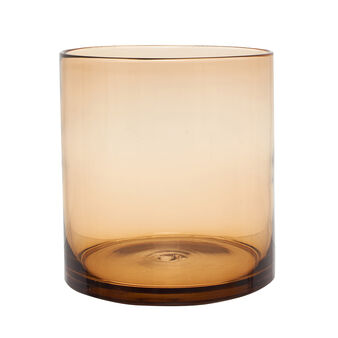 Smooth glass vase