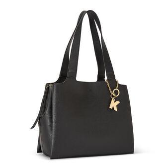 Shopping bag tessuto martellato Koan