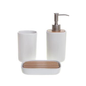 Loft ceramic bathroom set