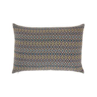 Cushion with diamond motif 35 x 55 cm