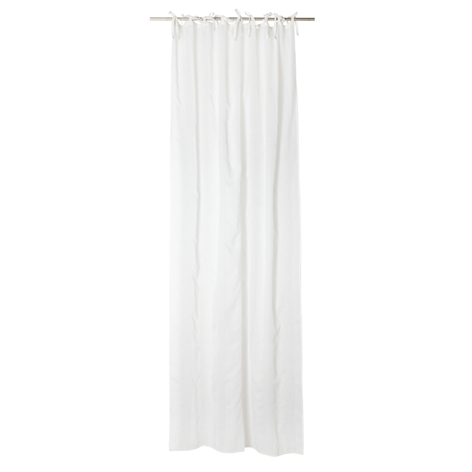 Curtain vertical striped