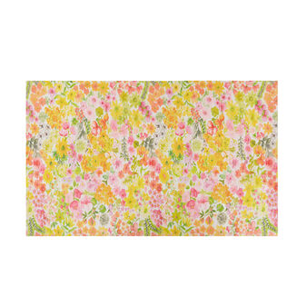 Tappeto da cucina stampa floreale