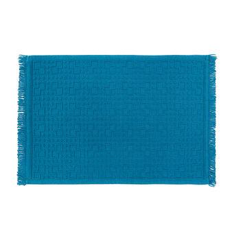 Tappeto bagno puro cotone disegno geometrico