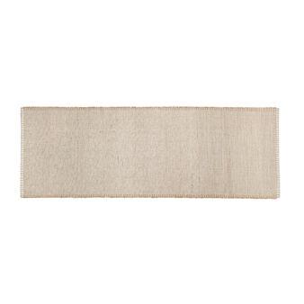 Tappeto da cucina puro cotone bordo ricamato