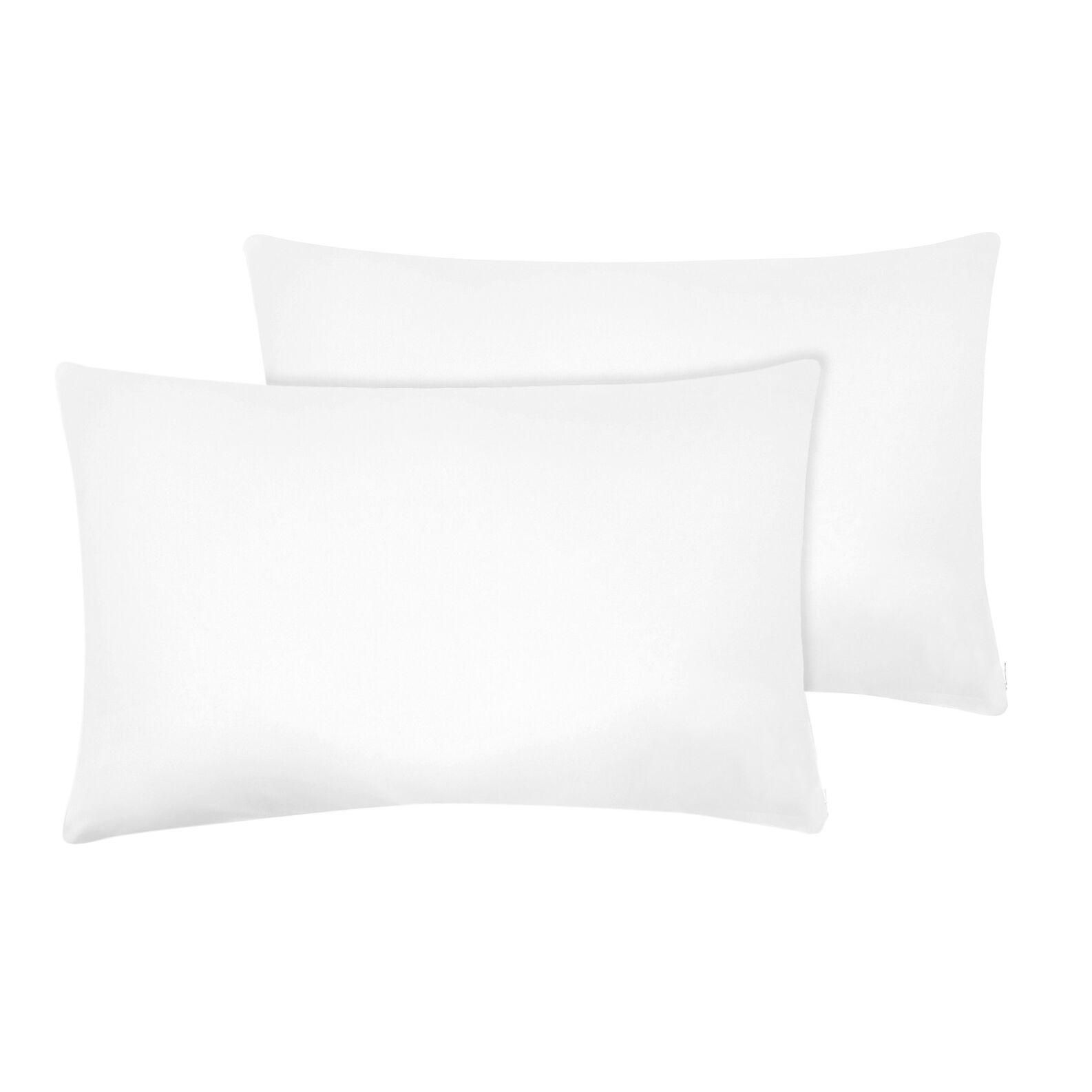 Pair of microfibre pillowcases