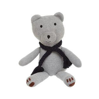 Pupazzo ad orsetto in maglia di cotone