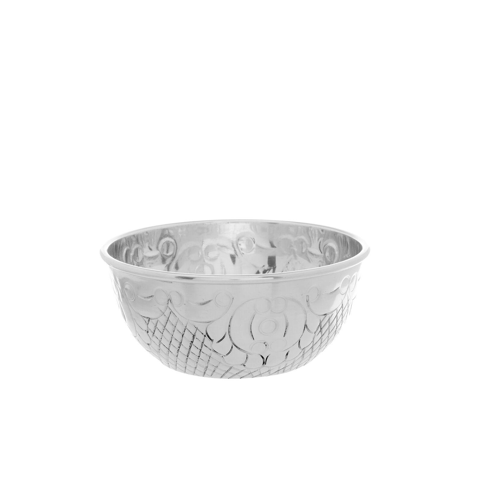 Small aluminium Morocco bowl