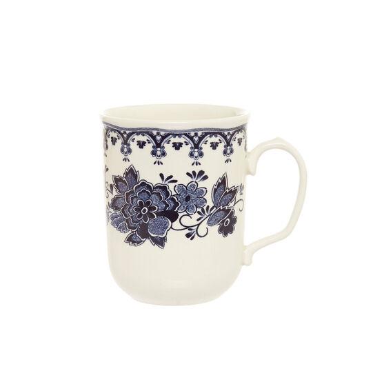 Mug ceramica decoro floreale