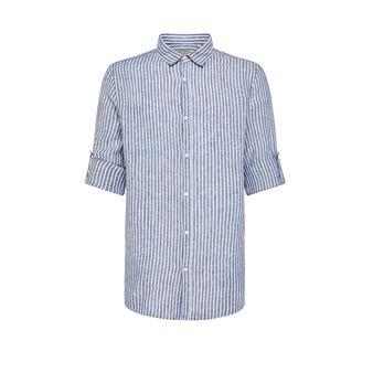 JCT 100% washed linen shirt