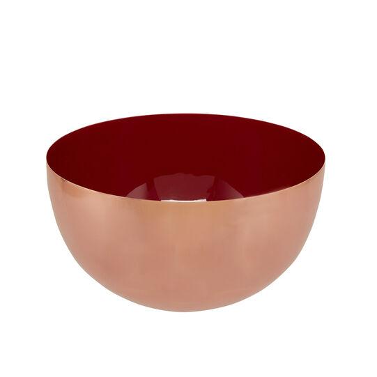 Bowl in copper iron