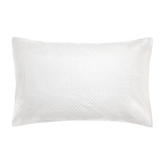 Portofino pillowcase in 100% cotton percale jacquard