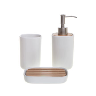 Loft ceramic bathroom set