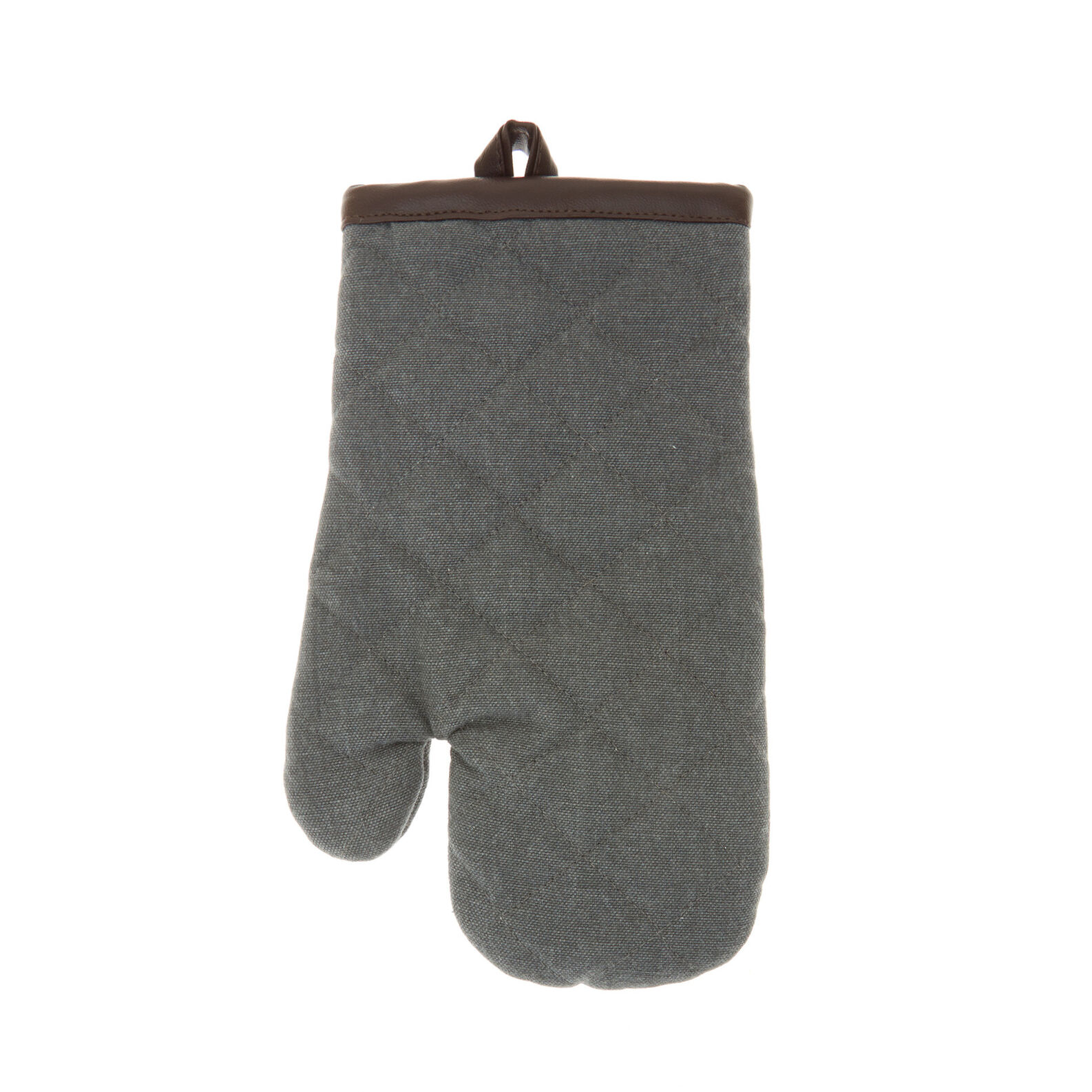 Stonewashed cotton kitchen glove