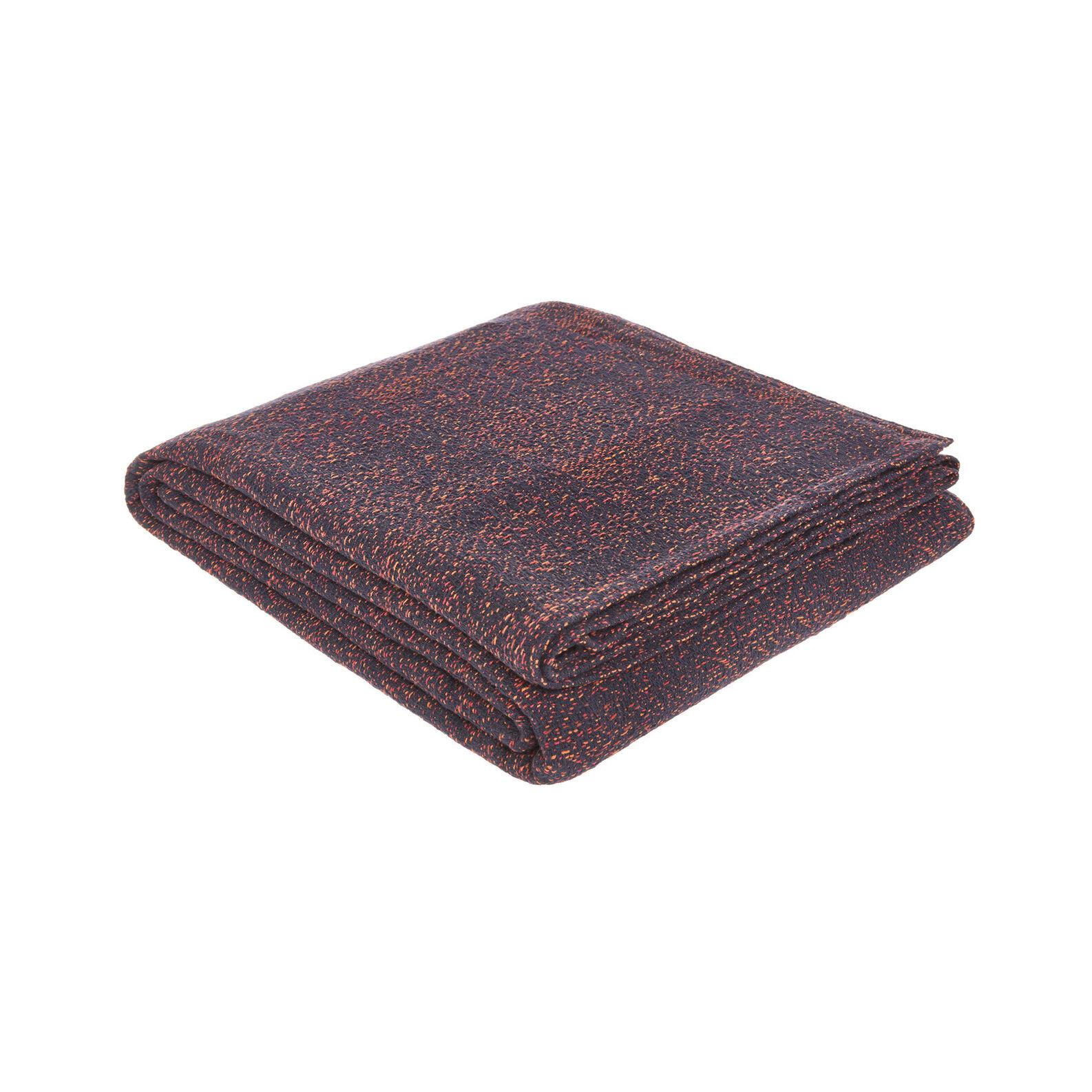 Mélange-effect cotton bedspread
