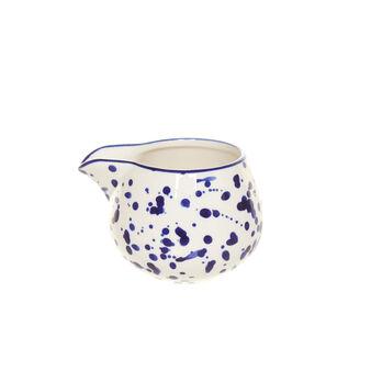 Stoneware milk jug Brush