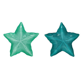 Star-shaped glass plate
