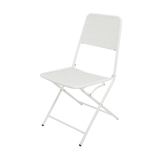 Blanca steel chair