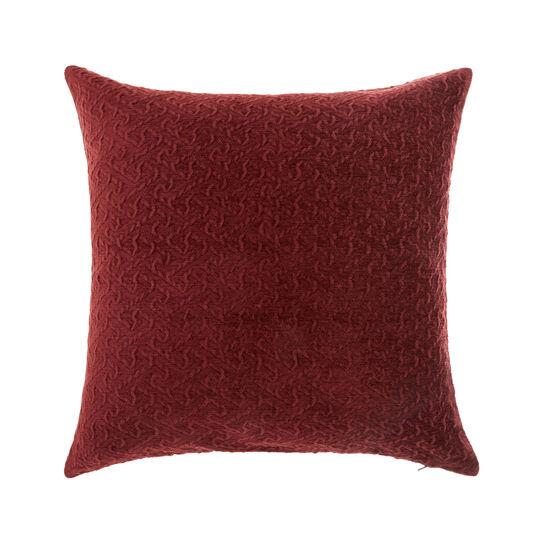 Embossed velvet cushion (45x45cm)